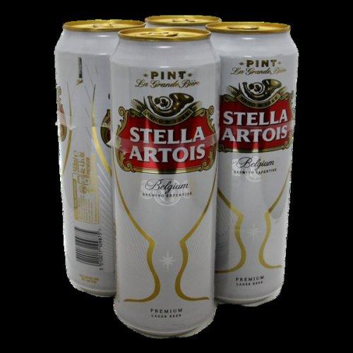Stella Artois 4pk x 2 (pint cans) - £9 instore @ Tesco