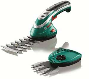 Bosch Isio Cordless Shrub and Grass Shear Set Sold by Amazon EU S.a.r.L. £35.99
