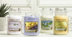 Yankee Candle online store - free delivery plus buy one get one free/half price offers