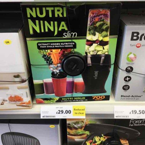 nutri ninja slim £29 instore Tesco