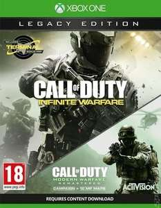 Call of Duty Infinite Warfare legacy Edition (preowned) xbox one £22.79 @ musicmagpie