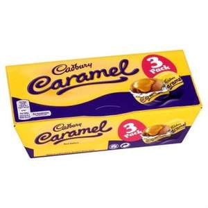 Cadbury caramel eggs box of 3, 50p @ iceland