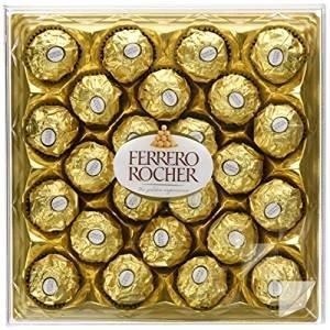 Ferrero Rocher 300g x3  £15.60 (Prime and non prime )  @ amazon