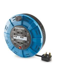 Workzone 10M 4 Socket Cassette Reel £8.99 Del @ Aldi (pre-order for 20th April)