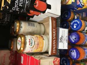 Sacla Free from dairy gluten and wheat white lasagne sauce home bargains 39p