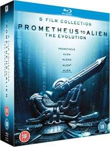 Prometheus to Alien the evolution 5 Pack (Blu-ray) £15 @ Tesco Direct