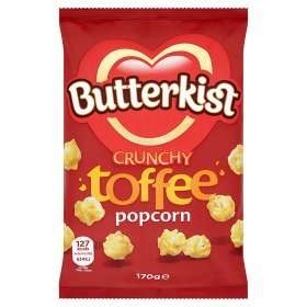 Dis' gon be gud! Butterkist Toffee Crunch Popcorn @ Asda 89p, dunno if it will last the 6 weeks though?