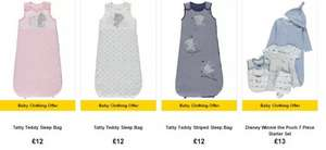 Spend £30 or more on baby clothes and get 20% off boys, girls and newborn, online only & free click and collect @ Asda George
