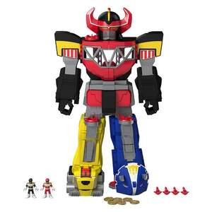 Imaginext Power Rangers Morphing Megazord £43.99 exclusively for Prime members @ Amazon