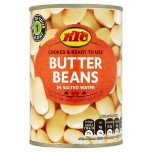 ktc Various tins kidney beans, butter beans, chickpeas and tomatoes 4 for £1 @ Morrisons