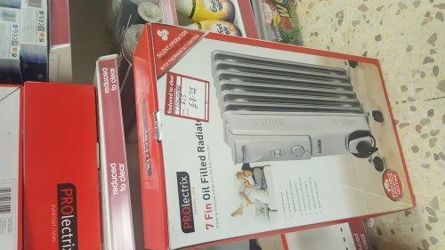 Oil radiator £8.75 @ Wilko -  kilmarnock