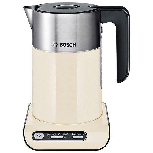 Bosch TWK8637PGB Styline 1.5L Kettle Temperature Control Cream £35.99 ebay u-stores