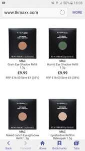 Mac makeup from £9.99 @ TK Maxx