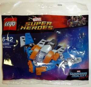 Free Lego The Milano Ship (Mini build) with a £15 spend on Lego Marvel Super Heroes @ Toys R Us