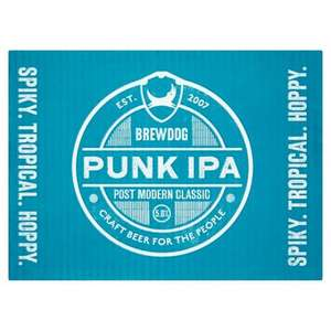 12 cans of BrewDog Punk IPA for £13 @ Morrisons