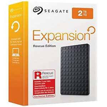Seagate 2TB Portable USB 3.0 Hard Drive £49.99 @ Amazon