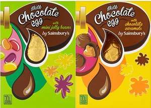 50P Sainsbury's Chocolate Easter Eggs - Colchester Town, Priory Walk (In-store)