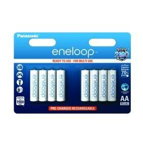 Panasonic Eneloop AA 1900mAh Rechargeable Battery Pack of 8 for £11.99 @ Battery Force