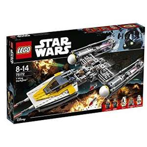 LEGO Star Wars Y-Wing Starfighter™ 75172 £47.99 @ Very.co.uk & Free Collect+