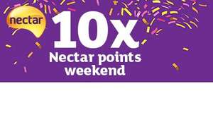 Heads up 28th Apr to 1st May - 10 x Nectar points per £ for petrol and grocery spend @ Sainsbury's