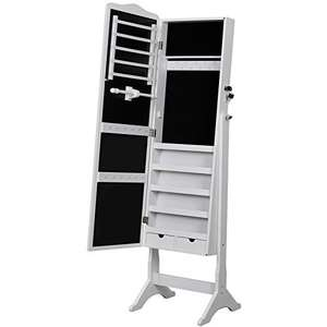 Songmics floor standing jewellery cabinet 158cm £73.79 with 10% off - Sold by Songmics and Fulfilled by Amazon