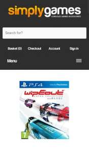 Wipeout Omega Collection on PS4 £22.85  SimplyGames