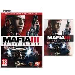 Mafia III Digital Deluxe (PC Downloads) £17.49 @ GAME