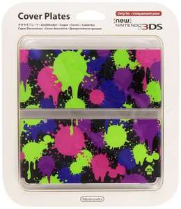 New Nintendo 3DS Splatoon Cover Plate / Pokemon Retro - £4.99 Each - Go2Games