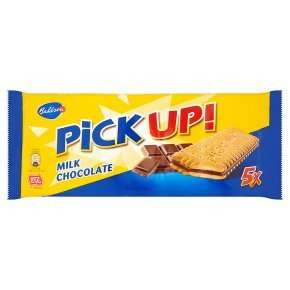 Bahlsen Pick Up! chocolate biscuits 5×28g, two for £1.69 @ Waitrose