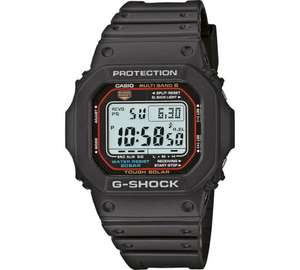 Casio Men's G-Shock Solar Powered Strap Watch - £69.99 - Argos