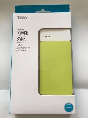 Tesco Power Bank £4.50 instore