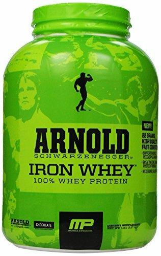 Iron Whey Arnold Series Chocolate 5lb £22.21 @ Amazon