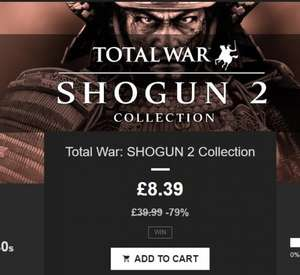 Total War Shogun 2 Collection on STEAM