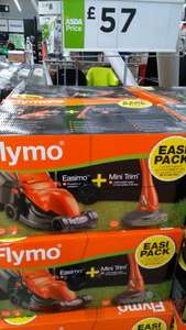 Flymo Easimo 900W & Mini Trimmer Twin Set - £57.00 instore @ Asda -  Queslett (Birmingham)