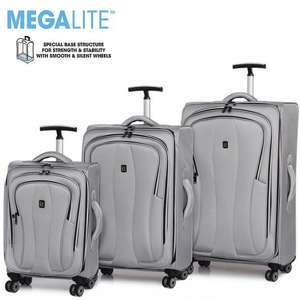 IT luggage 8 Wheel Mono set of 3 cases £99 with code @ Bags Ect