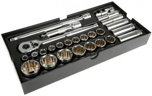 "Halfords Advanced Modular Tray Set - 26 Piece Socket Set 1/2"" - £21.25 C&C"