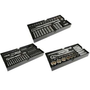 3 x Halfords Advanced Modular Tray Sets For £63.75 (RRP £135.00) C&C