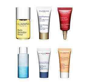 Clarins - 6 free samples with purchase, 10% off and free delivery! No min spend ends 1st May