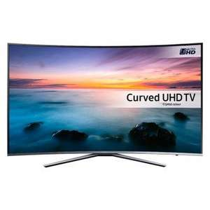 "Samsung UE55KU6500 55"" Curved 4K UHD £599 with code - PRC Direct"