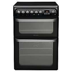 40% off selected Hotpoint Cookers with code @ Tesco Direct eg Hotpoint Ultima Electric Cooker with Electric Grill and Gas Hob, HUD61K S - Black now £239.40