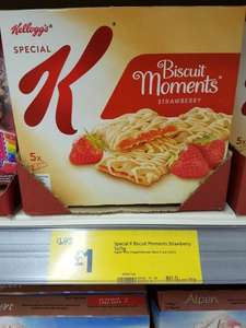 Kelloggs Biscuit Moments only £1 @ Morrisons