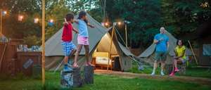 Chessington Glamping Flash Sale - from £149 per family - Book by 25th April