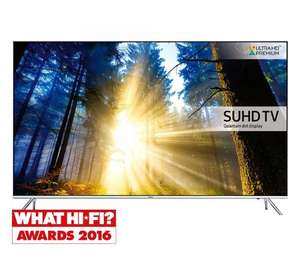 Samsung UE55KS7000 55 inch Quantum Dot 4K HDR - Richer Sounds - £849 - INSTORE ONLY