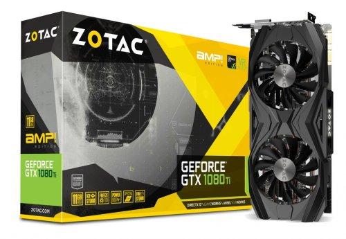 Zotac GeForce GTX 1080 Ti AMP! 11GB Graphics Card - £706.86 @ CCL