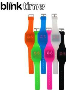 Blink time watch various colours just 47p was £5.97 @ Red5 - Free c&c