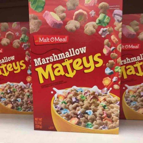 Marshmellow Mateys cereal £2.29 @ B&M