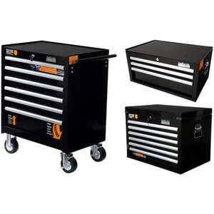 Halfords Industrial 6 & 3 Drawer Chests and 6 Drawer Cabinet Bundle £399 (RRP £810)