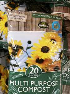 Poundland: Multi purpose compost (20 litres) £1
