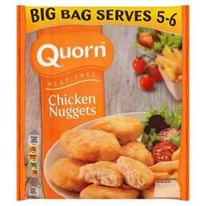 Quorn big bag chicken nuggets 476g £0.75 @ Tesco instore