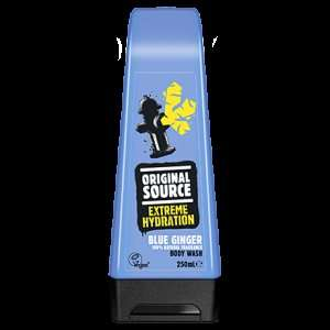 Original Source lemon and chilli / Blue ginger shower gels 23p @ Superdrug - Louth